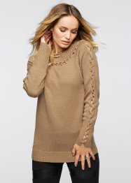 Strickpullover, BODYFLIRT boutique, camel