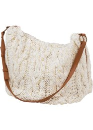 Stricktasche, bpc bonprix collection, wollweiss