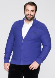 Strickjacke Regular Fit, bpc selection, saphirblau