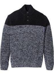 Pullover Regular Fit, bpc selection, schwarz/weiss