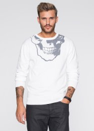 Pullover Slim Fit, RAINBOW, weiss