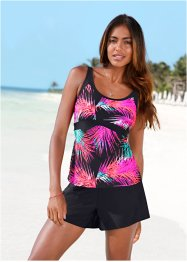 Tankini-Oberteil, bpc bonprix collection, pink/schwarz
