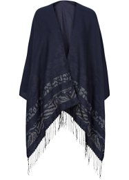 Poncho mit Muster, bpc bonprix collection