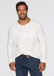 Langarmshirt Regular Fit, bpc selection, dunkelblau