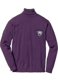 Rollkragenpullover Regular Fit, bpc selection, weinbeere