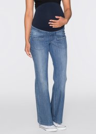 Umstandsjeans, in Marleneform, bpc bonprix collection, blue stone