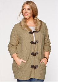 Strickjacke, bpc bonprix collection, new beige