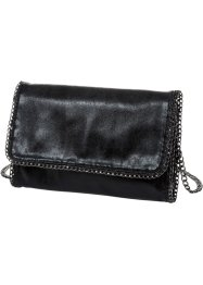 Clutch mit Kettendetail, bpc bonprix collection, schwarz