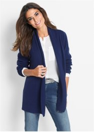 Premium Strickjacke mit Cashmere und Applikation, bpc selection premium