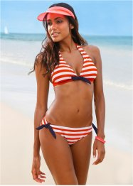 Bikini (2-tlg. Set), bpc bonprix collection, rot/weiss