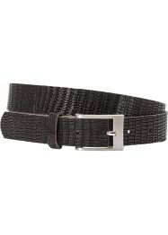 Ceinture en cuir embossé motif serpent, bpc bonprix collection