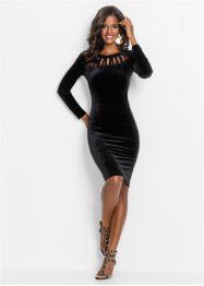 Kleid aus Samt, BODYFLIRT boutique