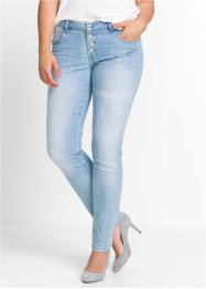 Stretchjeans im Used-Look, BODYFLIRT
