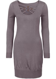 Strickkleid, BODYFLIRT, grau