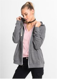"MUST HAVE: Oversized-Hoodie, ""Boyfriend"", RAINBOW, grau meliert"