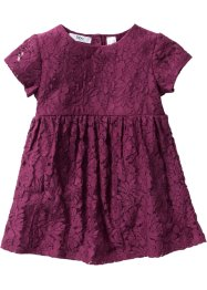 Spitzenkleid, bpc bonprix collection, beere