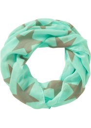 "Loop-Schal ""Star"", bpc bonprix collection, hellblau"