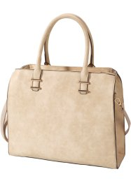 Handtasche, bpc bonprix collection, beige