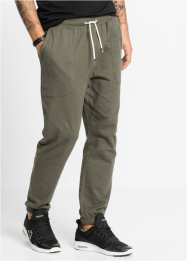 Jogginghose Slim Fit, RAINBOW, dunkeloliv