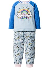 Pyjama (Ens. 2 pces.), bpc bonprix collection, bleu clair