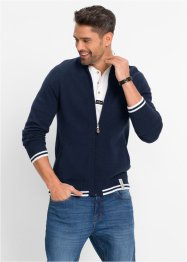 Strickjacke Regular Fit, John Baner JEANSWEAR, dunkelblau