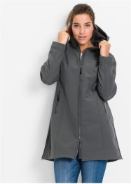 Manteau fonctionnel softshell, bpc bonprix collection, anthracite