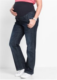 Umstandsjeans, Bootcut, bpc bonprix collection, darkblue stone