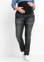Umstandsjeans mit schmalem Bein, bpc bonprix collection, black stone