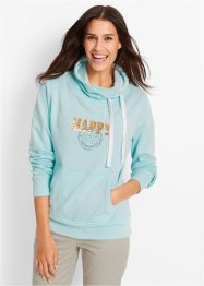 Sweatshirt, bpc bonprix collection, polarmint bedruckt
