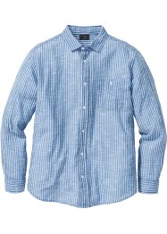 Streifenhemd Regular Fit, bpc selection, blau/weiss gestreift
