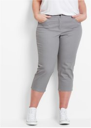 3/4-Stretchhose aus strukturiertem Twill, bpc bonprix collection