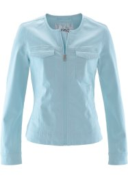 Veste en twill, bpc bonprix collection, menthe glaciale