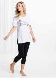 Pyjama mit 3/4 Leggings, bpc selection