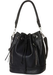 Beuteltasche, bpc bonprix collection, schwarz
