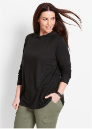 Shirt mit Kapuze, Langarm, bpc bonprix collection