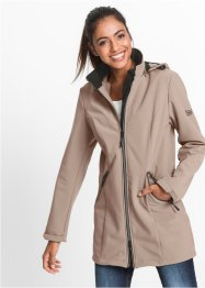 Stretch-Softshellmantel, bpc bonprix collection, taupe