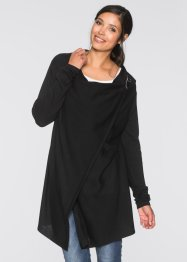 Umstands- und Stillponcho/Strickjacke, bpc bonprix collection, schwarz