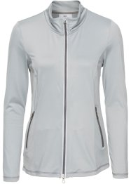 Langärmlige Funktions-Microfleece-Jacke, bpc bonprix collection