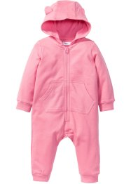 Baby Sweat Overall mit Kapuze Bio-Baumwolle, bpc bonprix collection