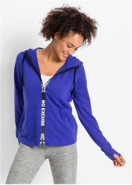 Veste sweat-shirt fonctionnelle, manches longues, bpc bonprix collection