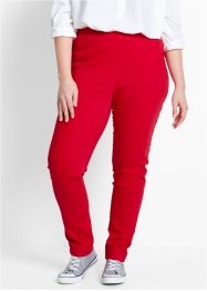 Stretch-Leggings, bpc bonprix collection, rot