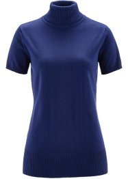 Basic Feinstrick-Pullover, bpc bonprix collection, mitternachtsblau