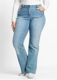 Stretch-Jeans im Bootcut, bpc bonprix collection, medium blue bleached