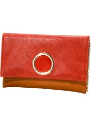 Pochette, bpc bonprix collection, rouge/cognac