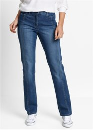 Stretch-Jeans mit verstellbaren Bund, bpc bonprix collection, blue stone