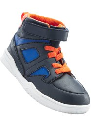 Freizeitstiefel, bpc bonprix collection, dunkelblau/orange/royal