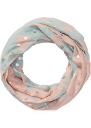 Loop mit Metallic-Details, bpc bonprix collection, rosa/blau