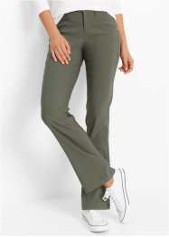 Basic Bengalinhose, bpc bonprix collection, dunkeloliv