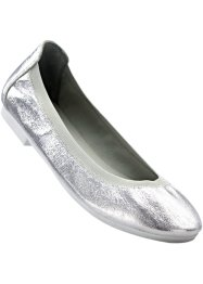 Ballerina, bpc bonprix collection, hellgrau metallic