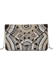 Clutch mit Perlen, bpc bonprix collection